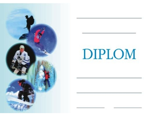 Diplom A5 Zimni Sporty Chamber