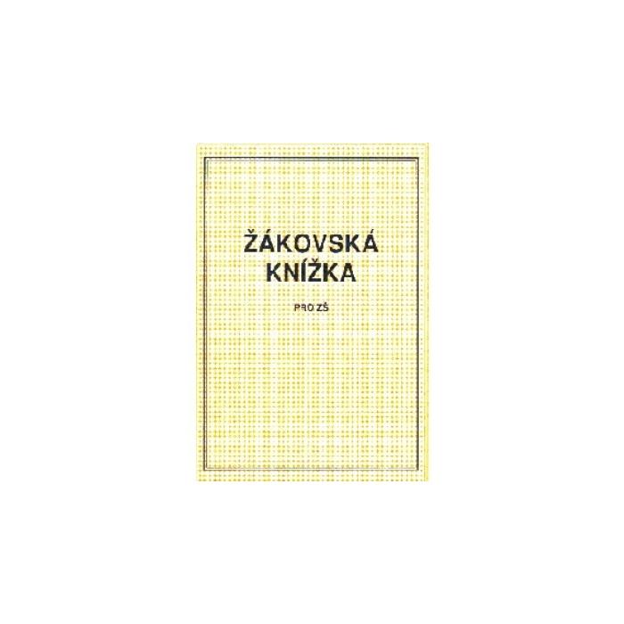 Žákovská knížka A5 - žlutá