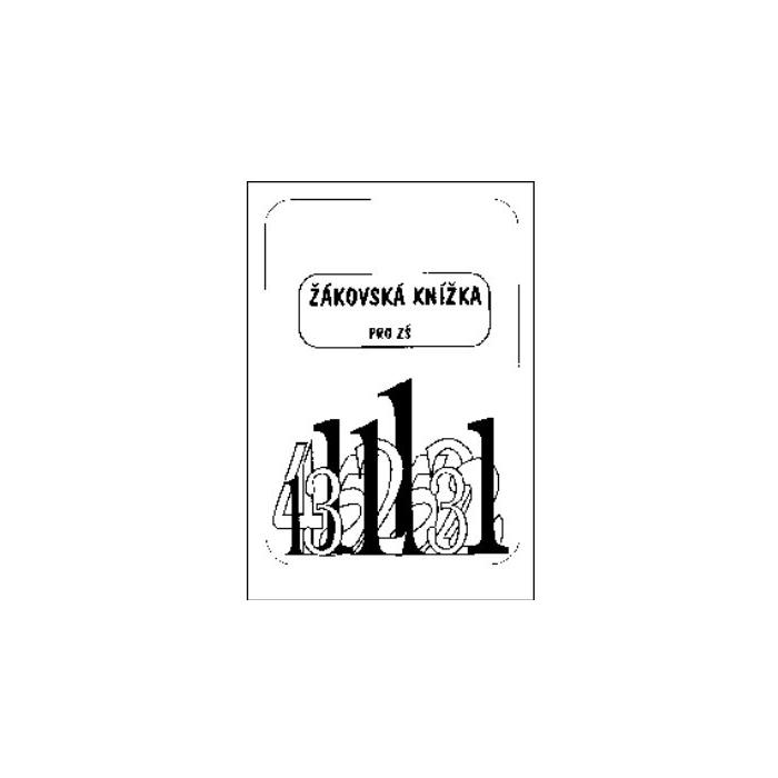 Žákovská knížka A5 - černobílá
