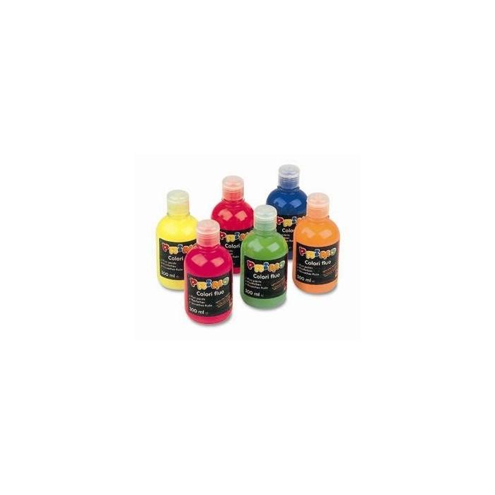 Temperové barvy - fluo 300ml