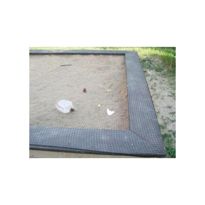 Ochranná síť na pískoviště oka 4cm dle udaných rozměrů