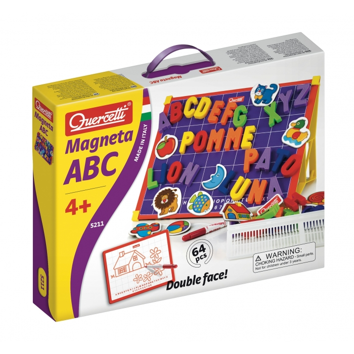 Magneta ABC v kufříku