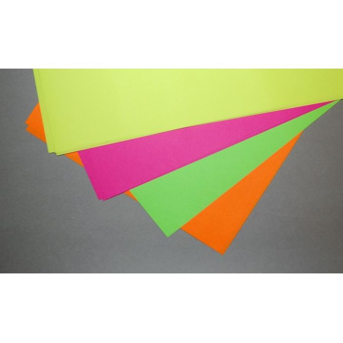 Papír reflexní A4, 20 ks, barevný mix