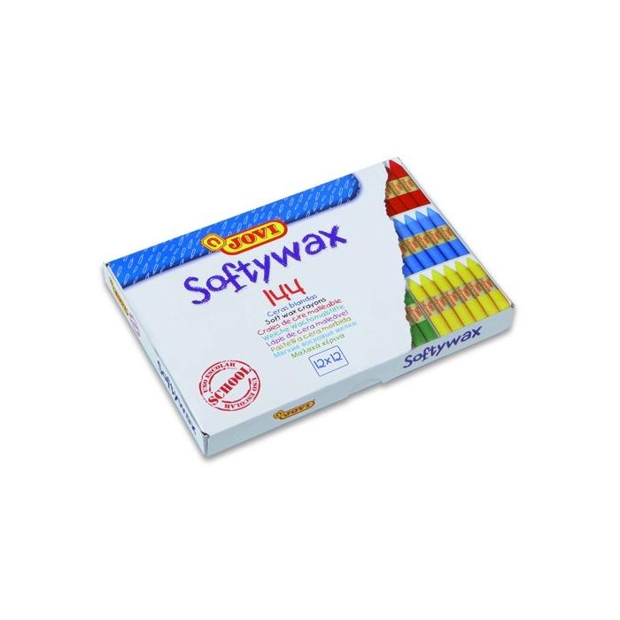 Jemné voskovky Softywax Jovi - ekonom. balení 144ks