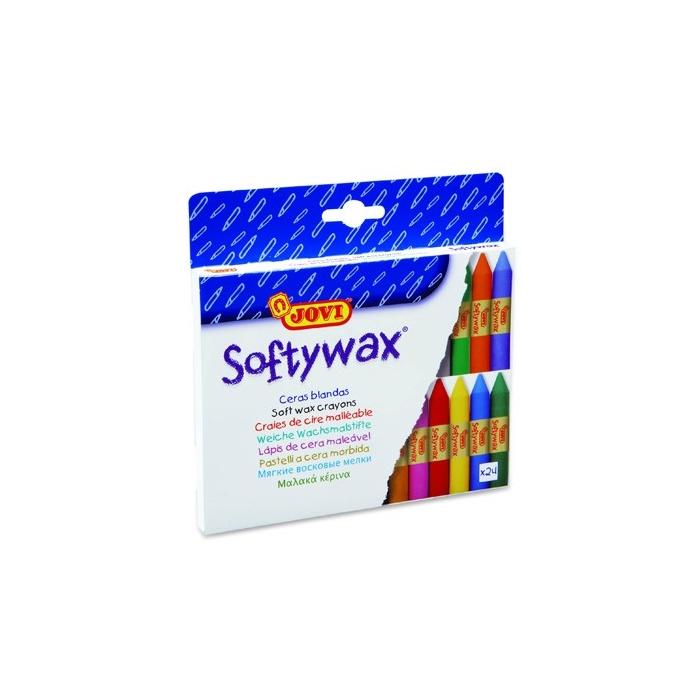 Jemné voskovky Softywax Jovi 24ks