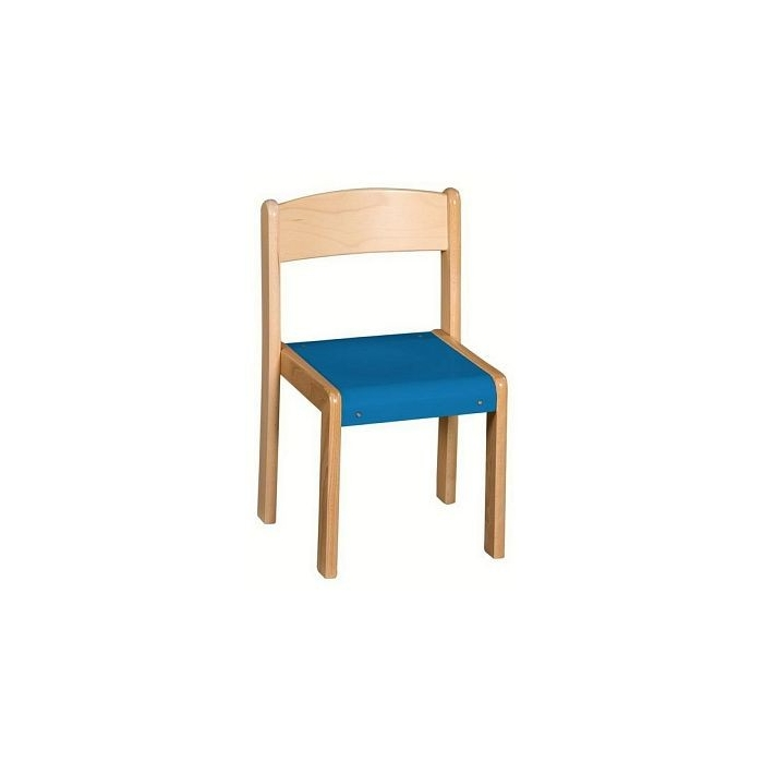 Stohovatelná židle VIGO výška sedáku 30 cm