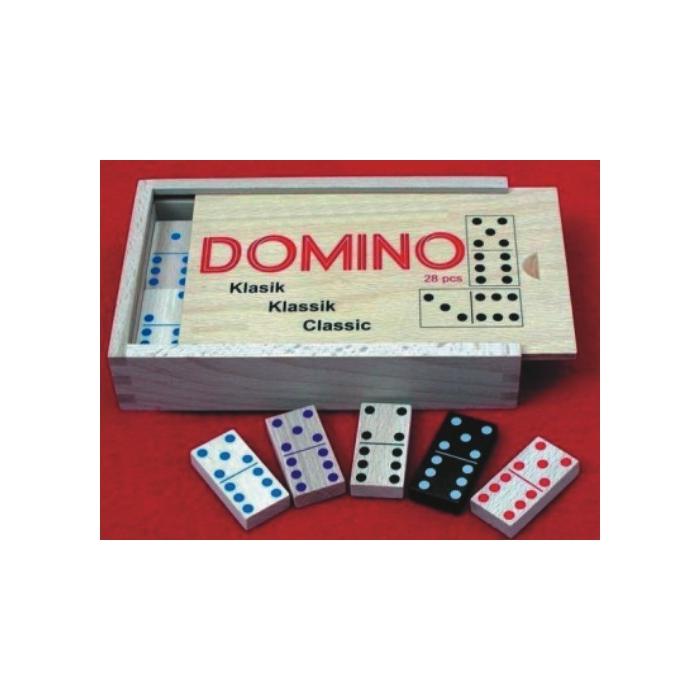 Domino dřevěné Klasik Max