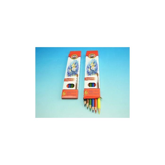 Školní akvarelové pastelové tužky 6ks