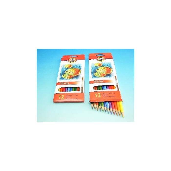 Školní akvarelové pastelové tužky 12ks