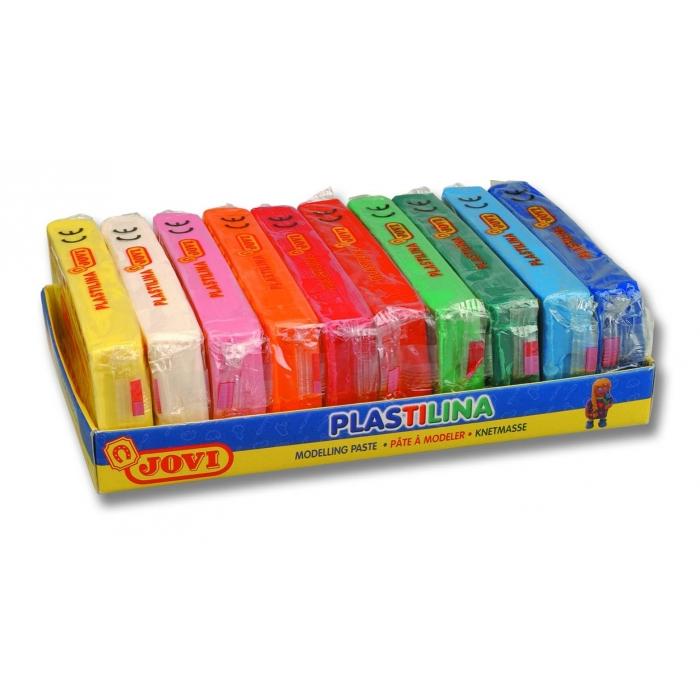 Plastelína 10x150g, 10 barev