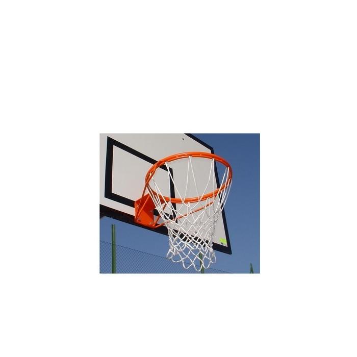 Síťka na košíkovou bílá