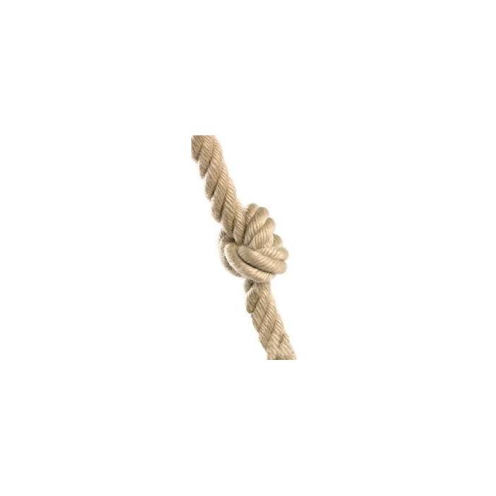 Houpací lano s uzly průměr 25mm,2m