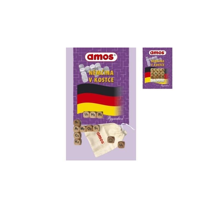 Němčina v kostce AMOS malé kostky