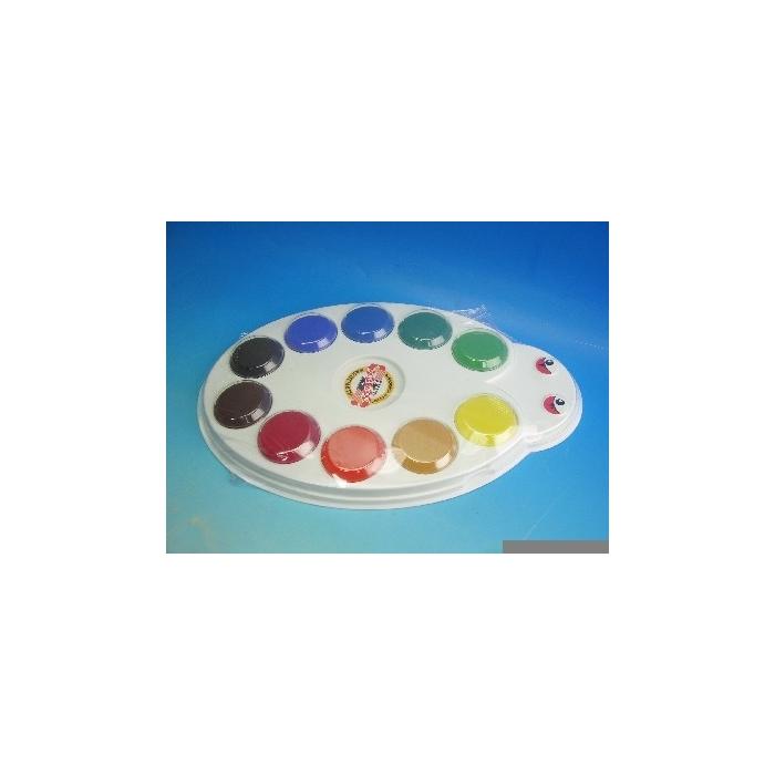 Vodové MAXI barvy, průměr 55 mm