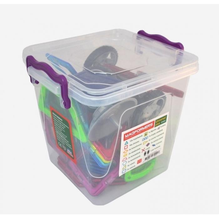 Universal PLUS box, magnetická stavebnice