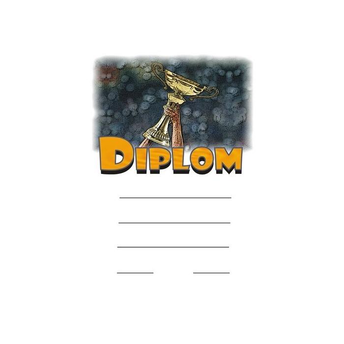 Diplom A4 - pohár