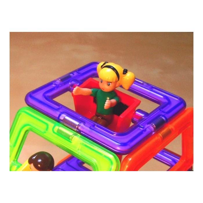 Otočná figurka holčička-magformers