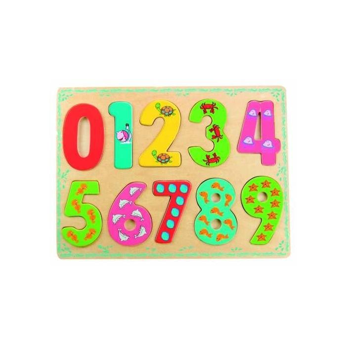 Puzzle číslice