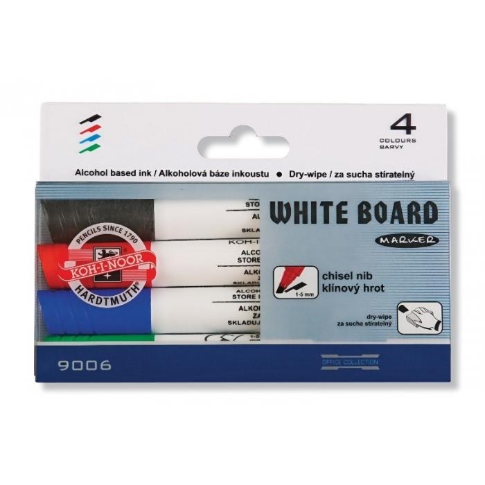 Popisovače na bílé tabule-klínový hrot