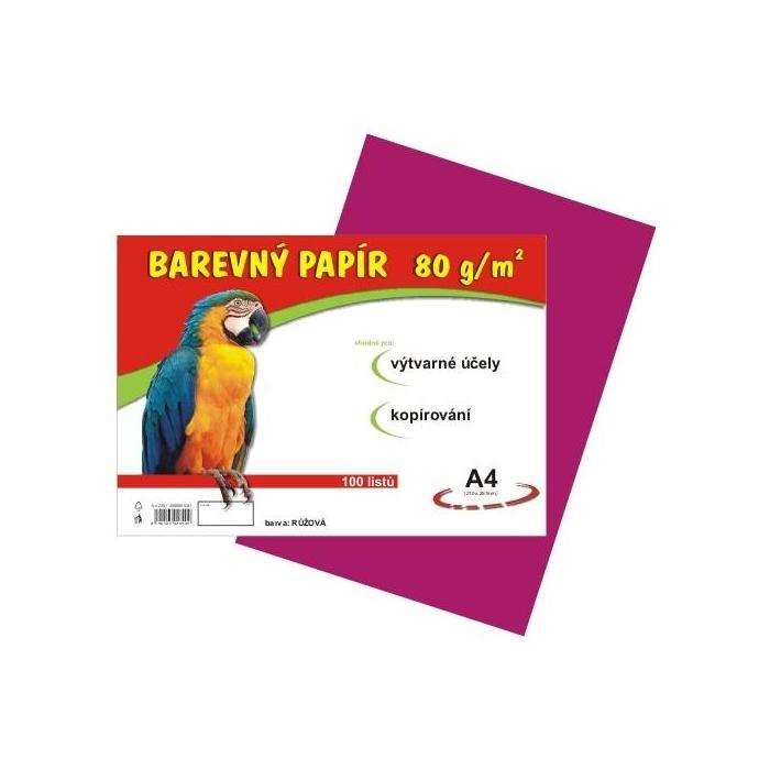 Barevný papír A4/80g/100ks