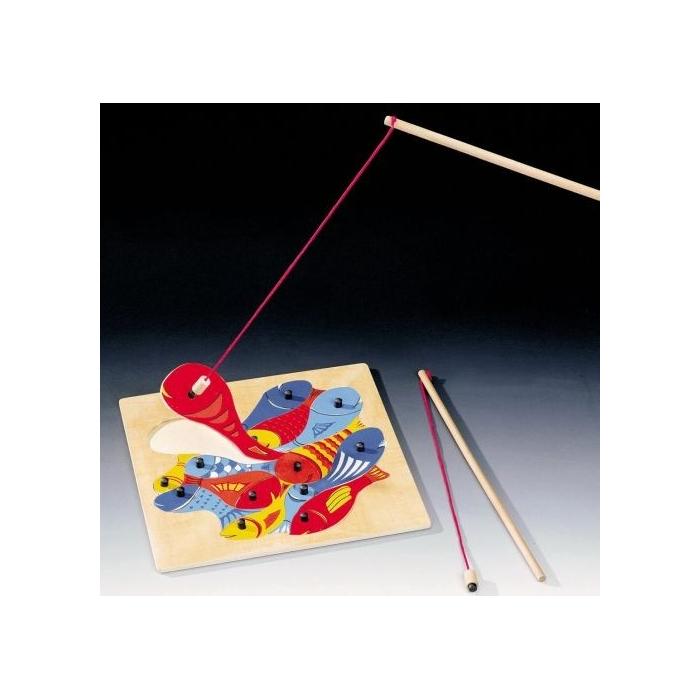 Magnetická hra Rybičky s udičkou - puzzle