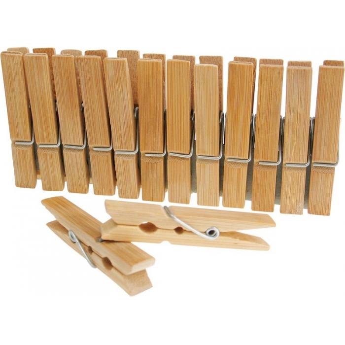 Bambusové kolíčky 65x10mm 24kusů