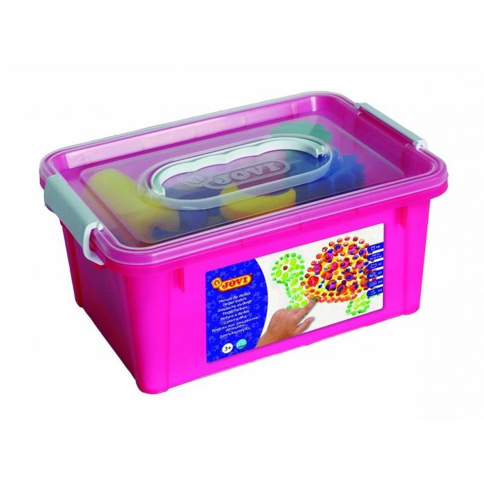 Prstové barvy - box