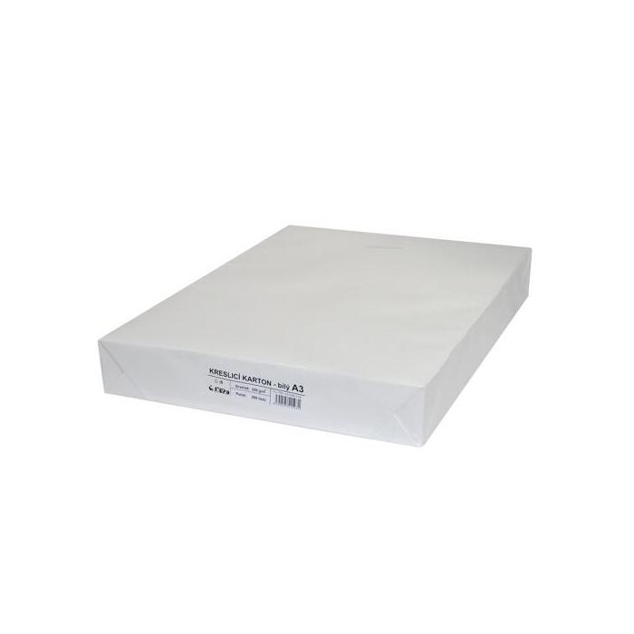 Kreslící karton A3/200ks/220g-bílý