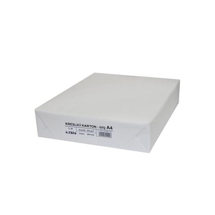 Kreslící karton A4/200ks/220g-bílý