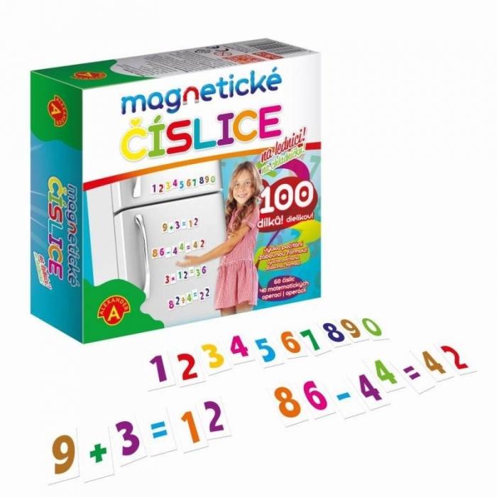 Magnetické číslice