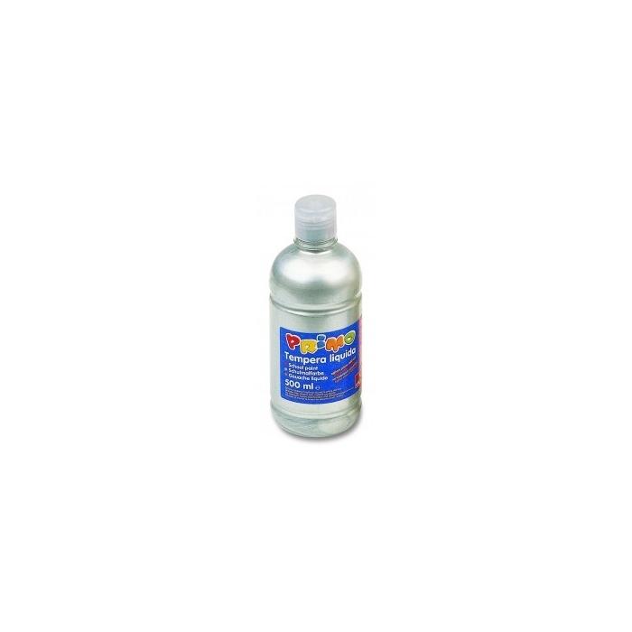 Temperové barvy 500 ml- Stříbrná