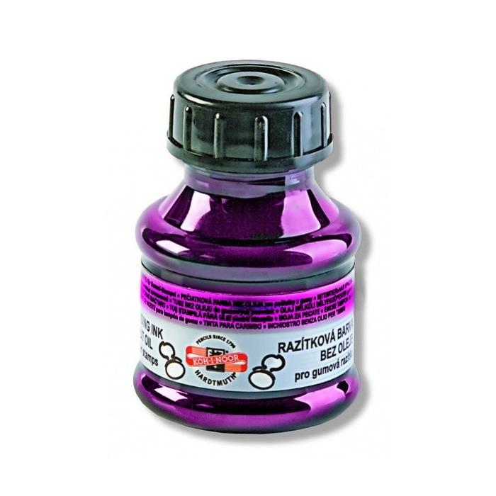 Barva na razítka - fialová
