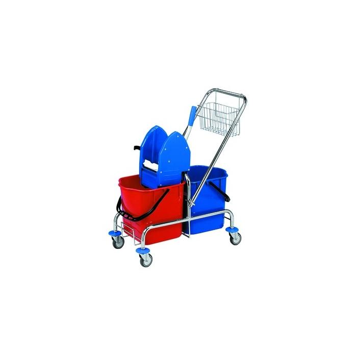 Úklidový vozík 2 x 25l bez košíku