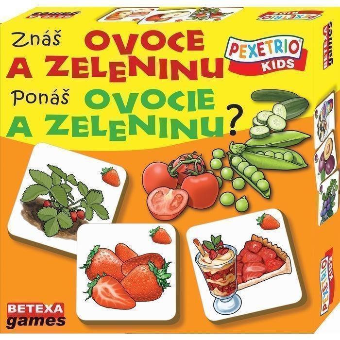 PEXETRIO KIDS Ovoce a zelenina