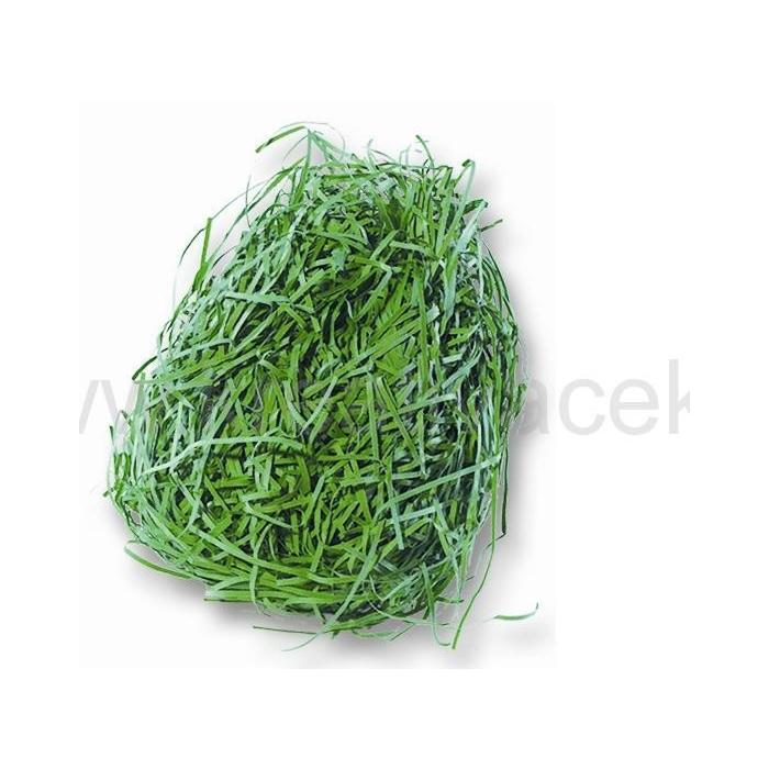 Tráva z papíru zelená