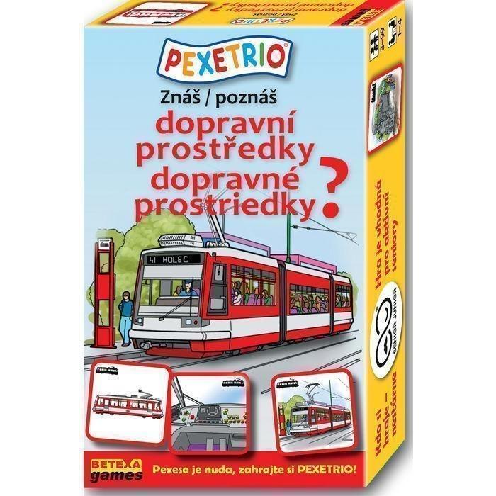 Pexetrio Znáš dopravní prostředky