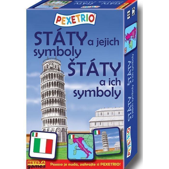 PEXETRIO STÁTY A JEJICH SYMBOLY(Evropa)