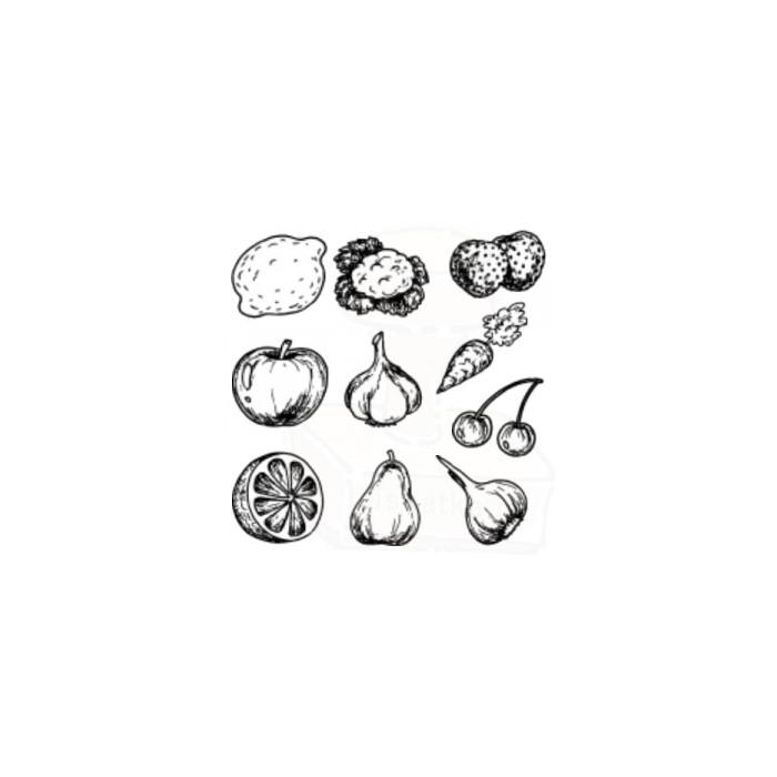 Tiskátka-Ovoce a zelenina - sada