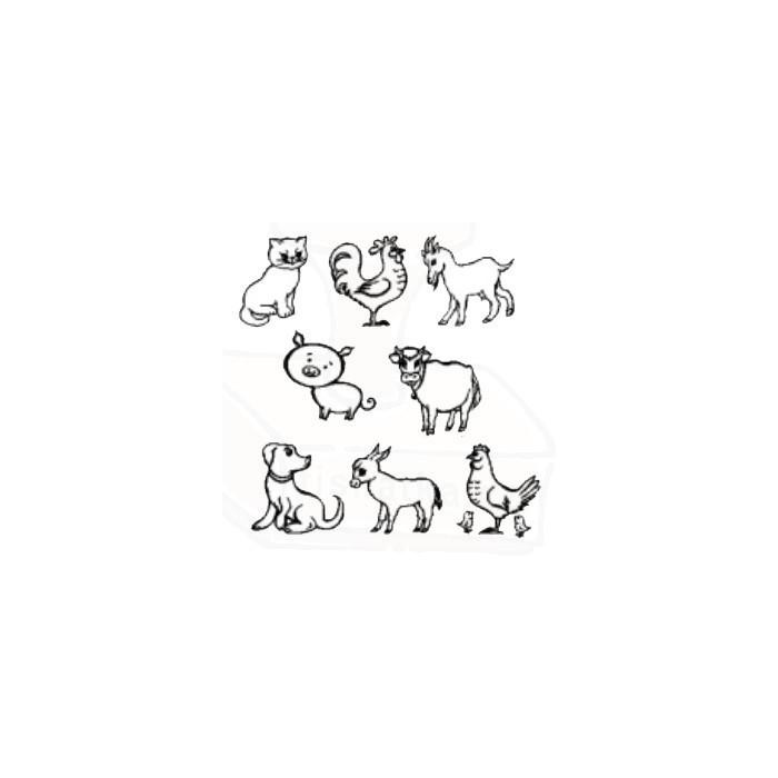 Domácí zvířátka - sada