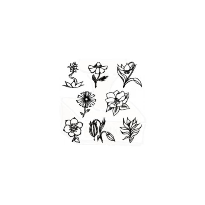 Květiny - sada