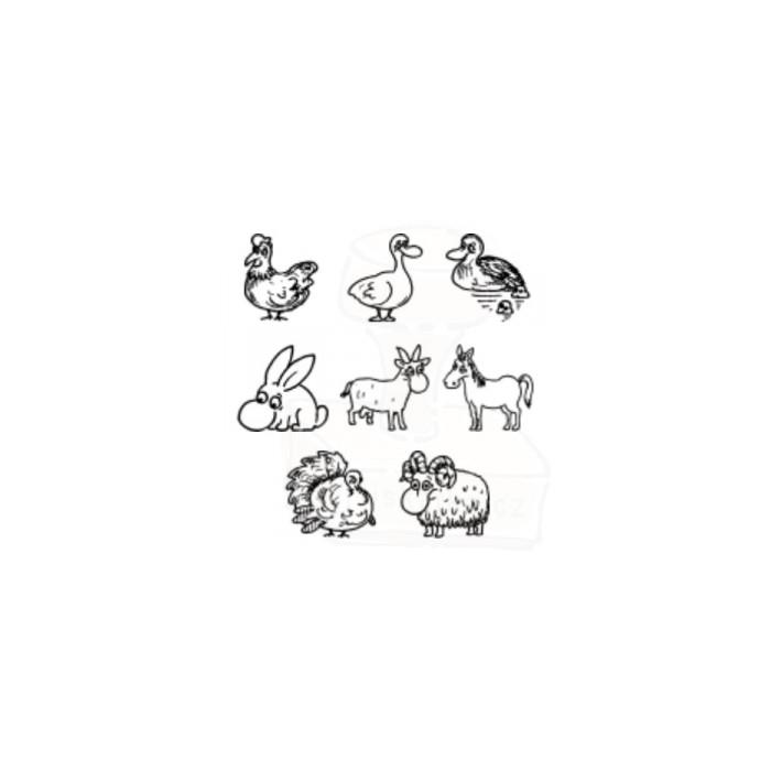 Tiskátka - domácí zvířata