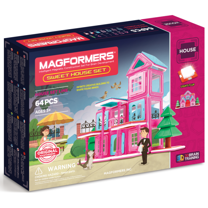 Magformers Sweet House -64