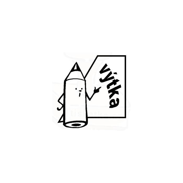 Samonamáčecí motivační razítko tužka výtka