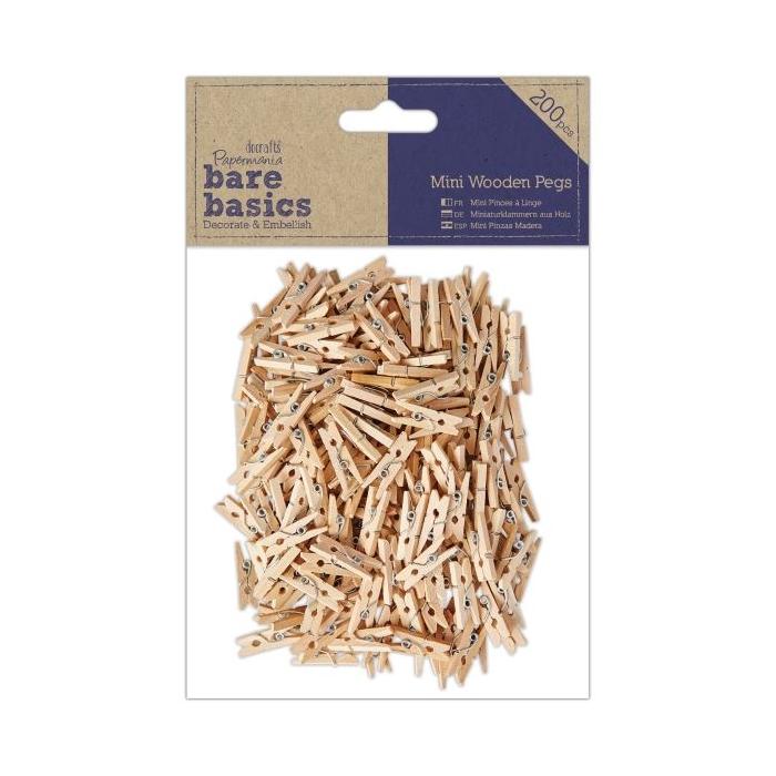 Dřevěné MINI kolíčky