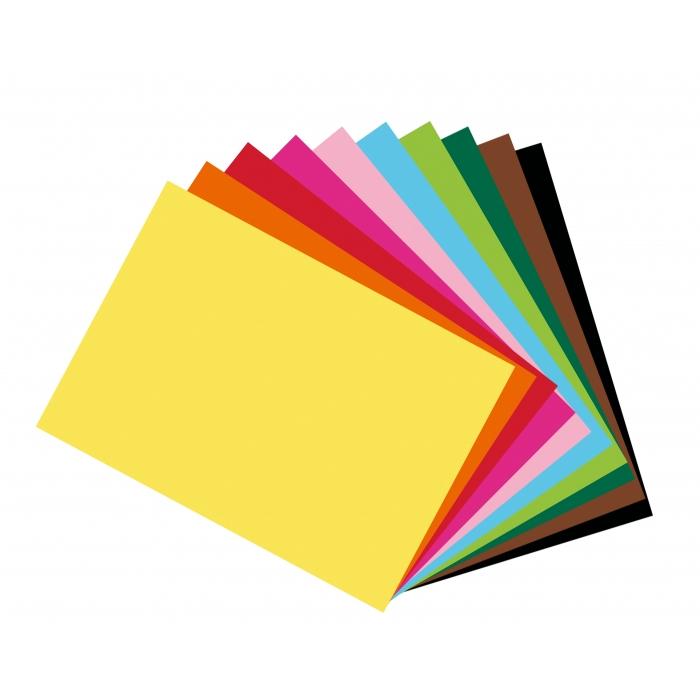Barevný fotokarton A4, 10 barev