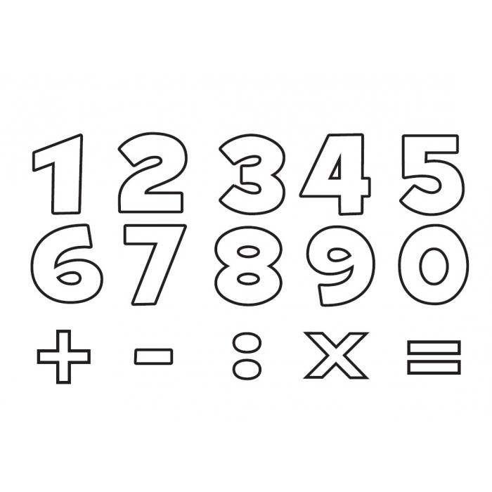 Číslice 18 x 18 mm