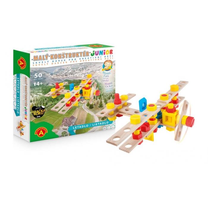 Malý konstruktér - letadlo