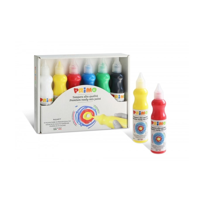 Temperové barvy PRIMO 3D 6 x 75 ml
