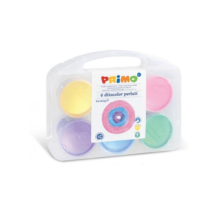 Prstové perleťové barvy PRIMO