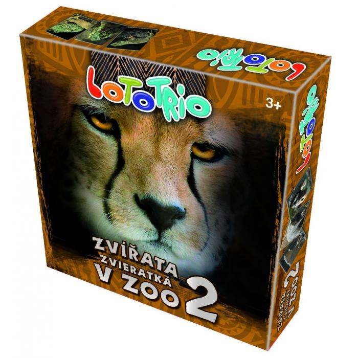 LOTO-TRIO Zvířata v ZOO 2
